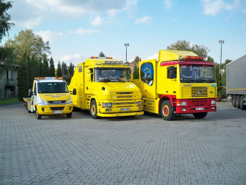 TRUCK-SERVICE  Sikora,      Pomoc Drogowa       ,holowanie kraj zagranica