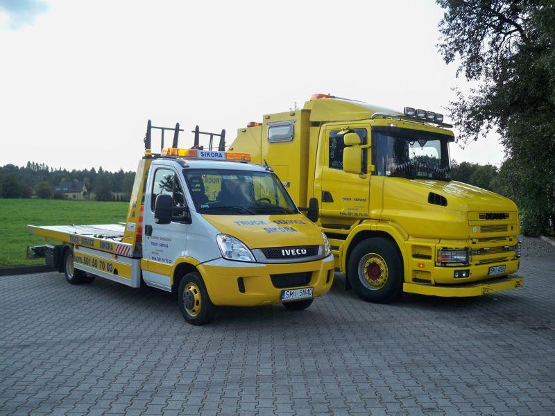TRUCK-SERVICE  Sikora,      Pomoc Drogowa       ,pomoc drogowa osobowe