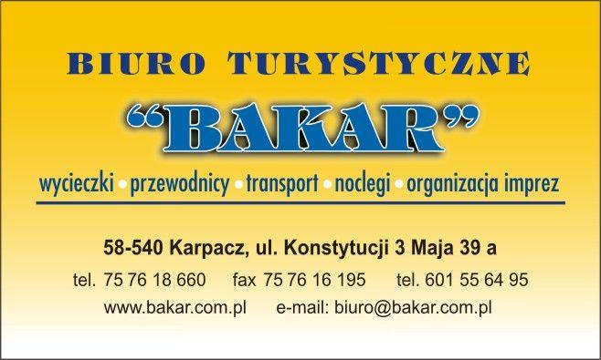Bakar Biuro turystyczne Wycieczki krajowe i zagraniczne,kotlina jeleniogórska