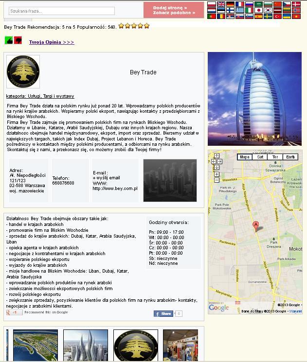 Strona www, pozycjonowanie stron