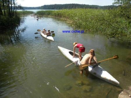 Agroturystyczne Gospodarstwo Ekologiczne, jezioro