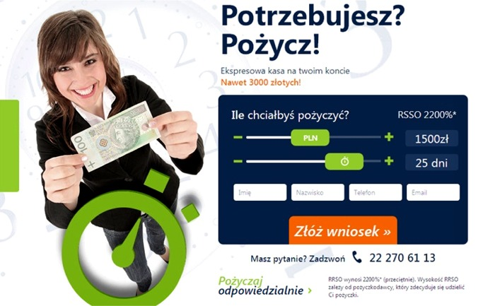 pożyczki przez internet chwilówki