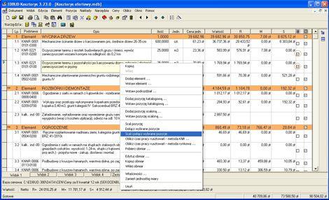 MTM Digital,cenniki i stawki do kosztorysowania