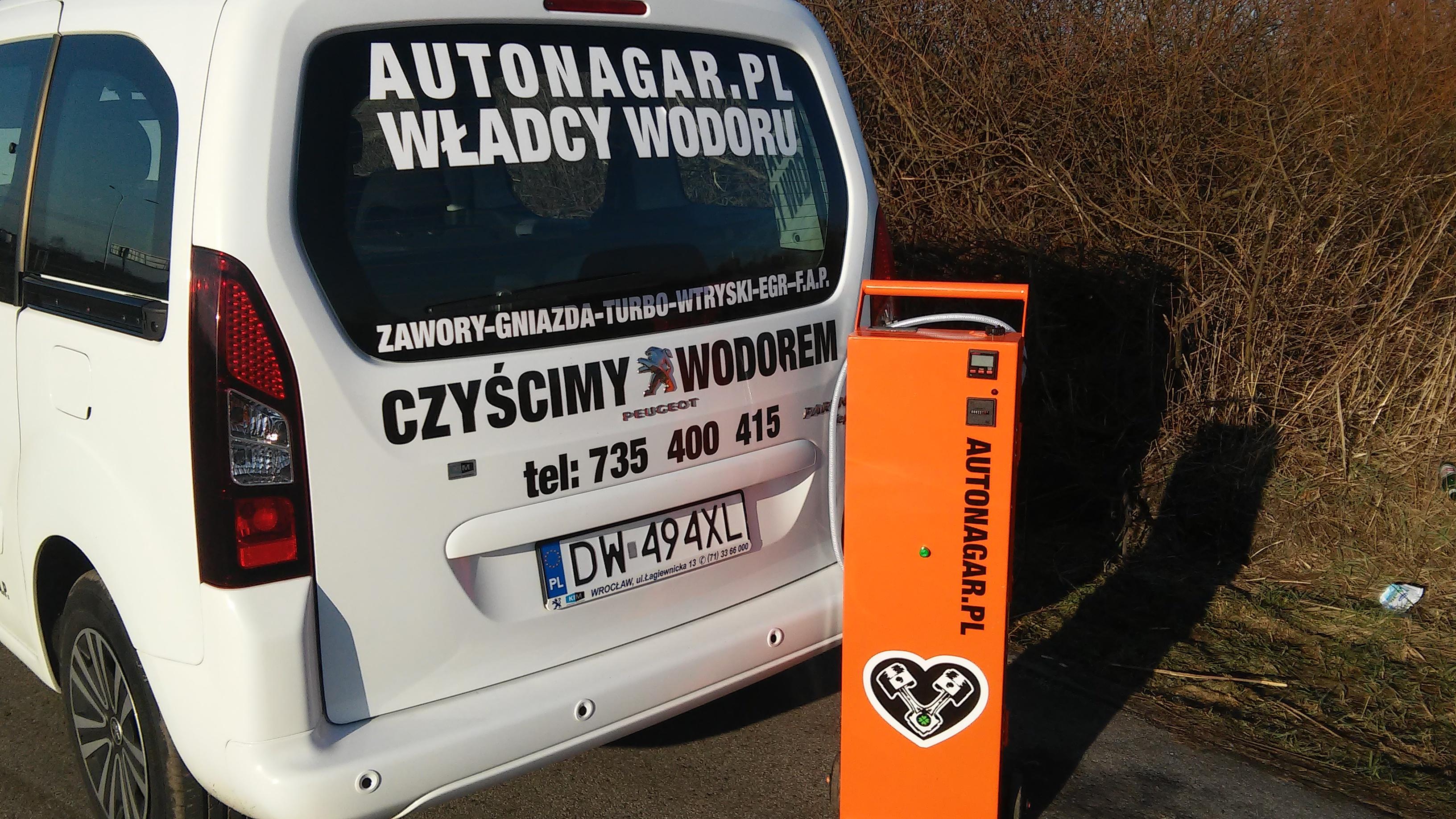 Autonagar.pl,wodorowanie urządzenia