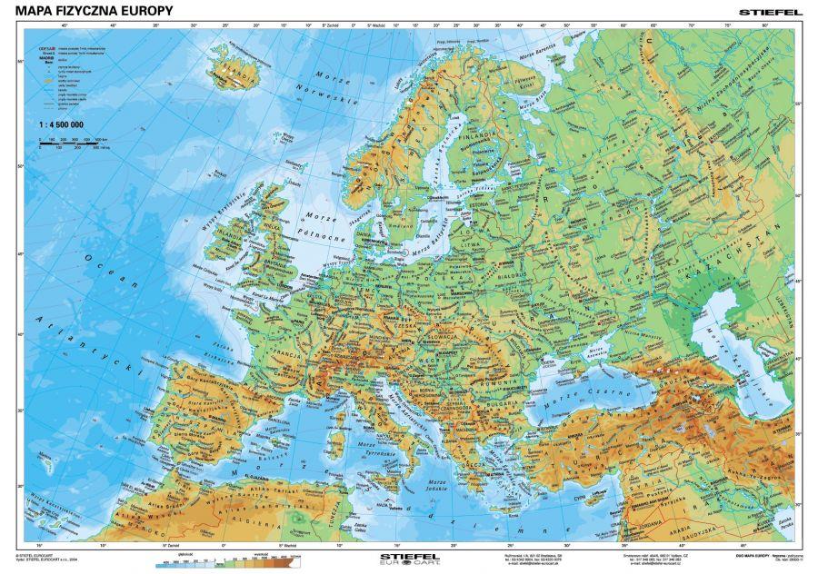 Stiefel Eurocart Sp z oo, mapy szkolne