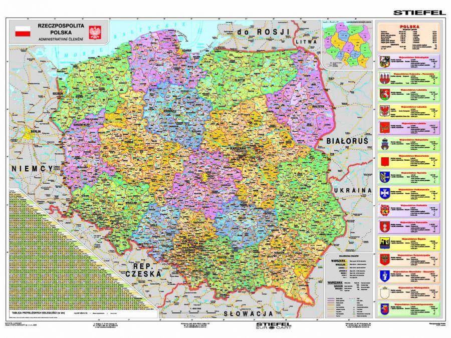 Stiefel Eurocart Sp z oo, mapy ścienne
